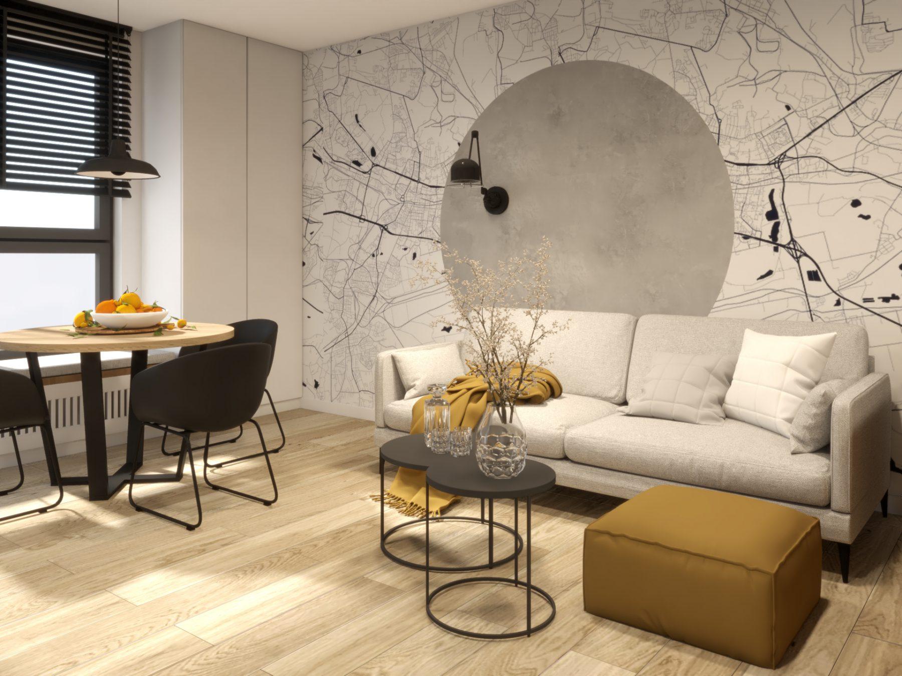 Mieszkanie w Katowicach | VI | Dom przy Filharmonii | wersja alternatywna